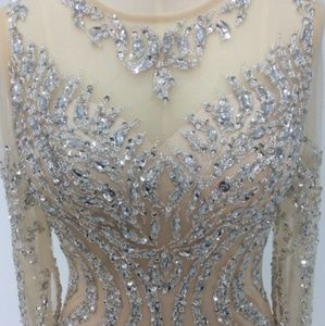 Dresses & Skirts - Hand beaded gorgeous gown